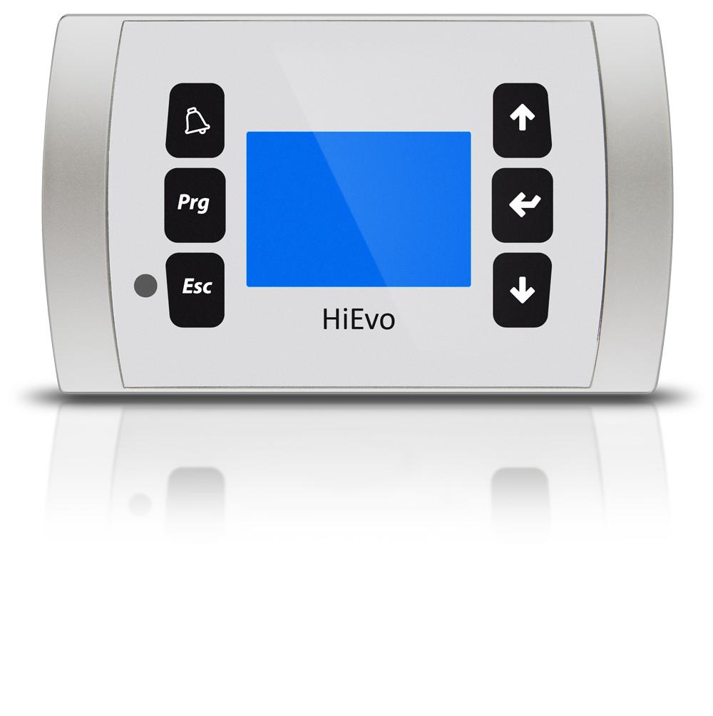 HiRef HiEvo white control unit display
