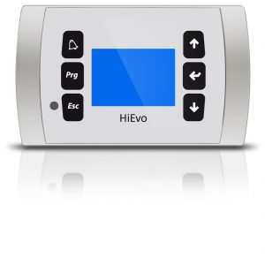 HiEvo display white