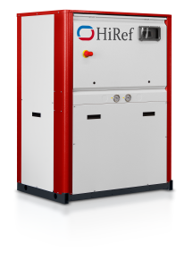 HiRef KSW water to water heat pump front