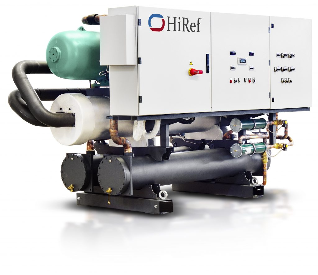 HiRef XVW Water to water chiller