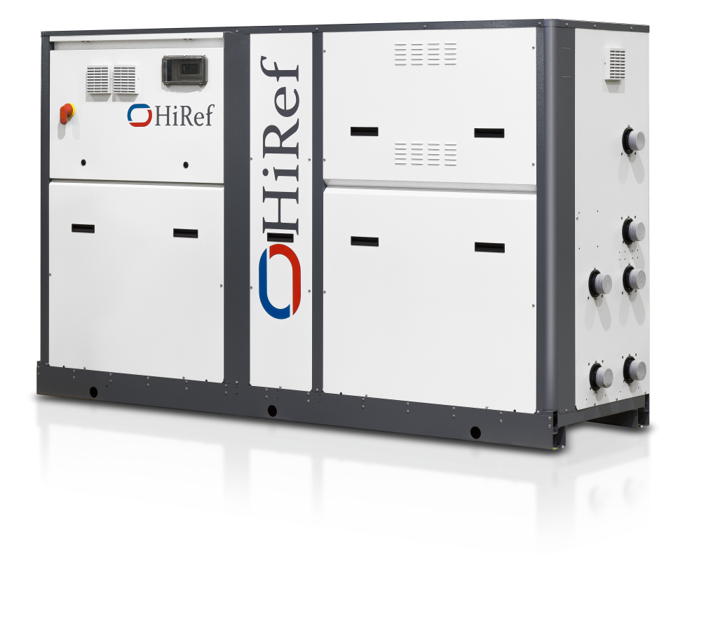 HiRef water to water heat pump