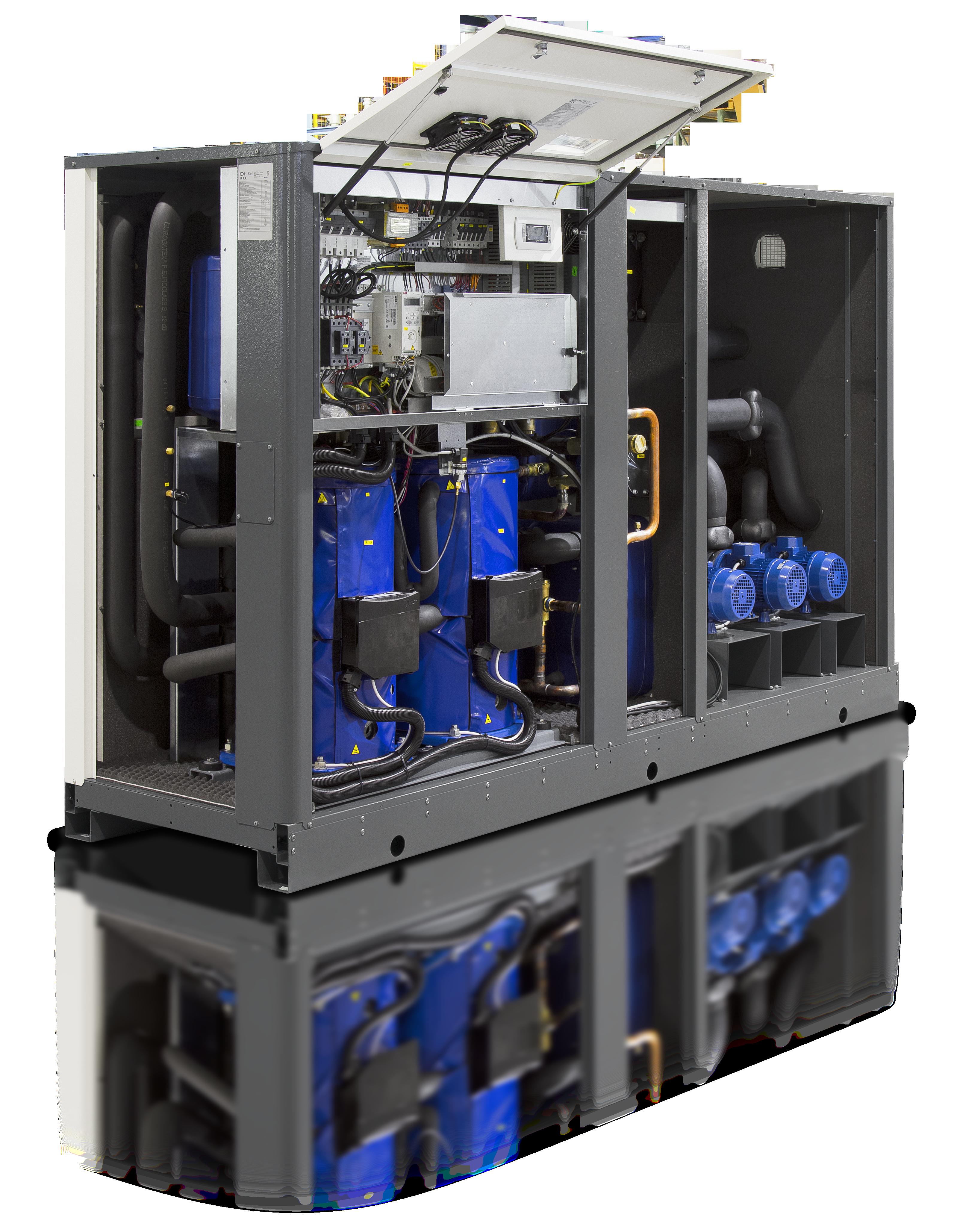 HiRef MSW heat pump open