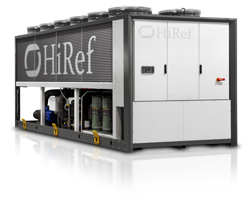 HiRef multifunctional chiller and heat pump