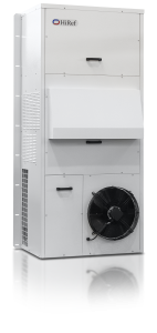 Outdoor cooling unit front