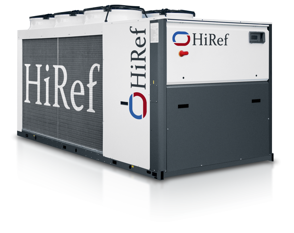 HiRef HPS air to water heat pump front