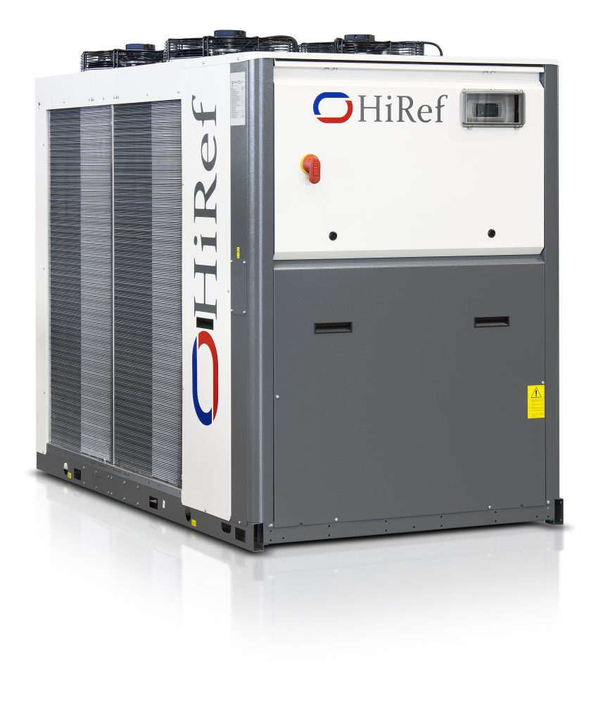 HiRef MHA air to water chiller